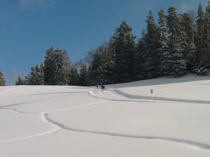 piste de ski de fond La Givrine
