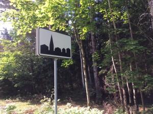 Signalétique village estonien