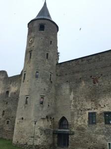Donjon château Haapsalu