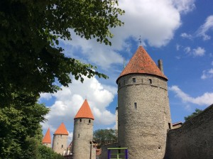 Place des tours Tallinn